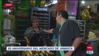 #CotorreandoconlaBanda: 'El Repor' suelto en el Mercado de Jamaica