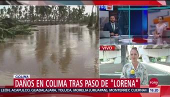 Foto: Daños Colima Huracán Lorena 21 Septiembre 2019