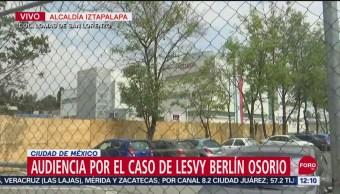 Desahogan pruebas contra presunto homicida de Lesvy Berlín