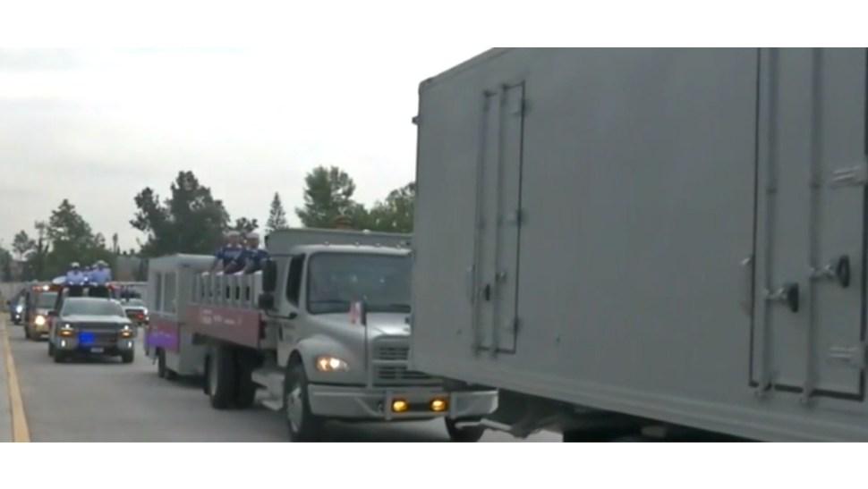 FOTO Ensayan para desfile del 16 de septiembre en CDMX (FOROtv)