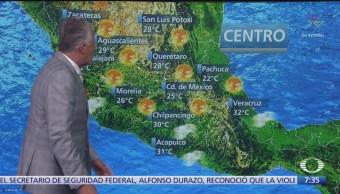 Despierta con Tiempo: Disminución de lluvias en el centro del país