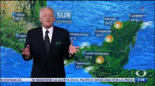Despierta con Tiempo: Se mantienen lluvias torrenciales en Nayarit, Jalisco y Colima