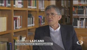 Foto: Destituyen Antonio Lazcano Comisión Dictaminadora Conacyt 23 Septiembre 2019