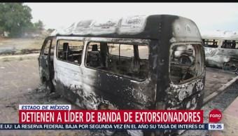 Foto: Detienen El Oso Líder Extorsionadores Tecamac Edomex 18 Septiembre 2019