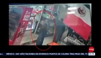 Detienen a hombre por robar bola de queso en CDMX