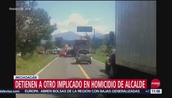 Detienen a otro implicado en homicidio del alcalde en Paracho, Michoacán