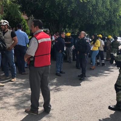 Amenaza de bomba en la UAEM provoca movilización policiaca
