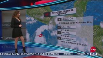 FOTO: Clima Con Mayte Carranco 17 Septiembre 2019