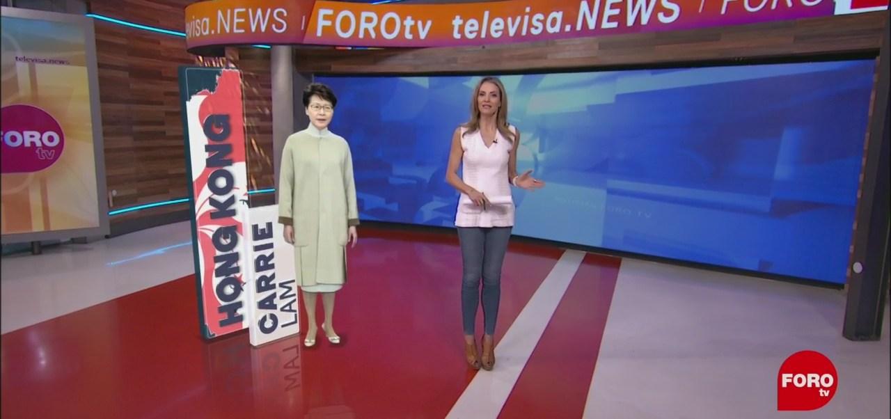 FOTO: Carrie Lam Personaje Semana