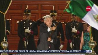 FOTO:El presidente López Obrador dio su primer Grito de Independencia, 15 Septiembre 2019