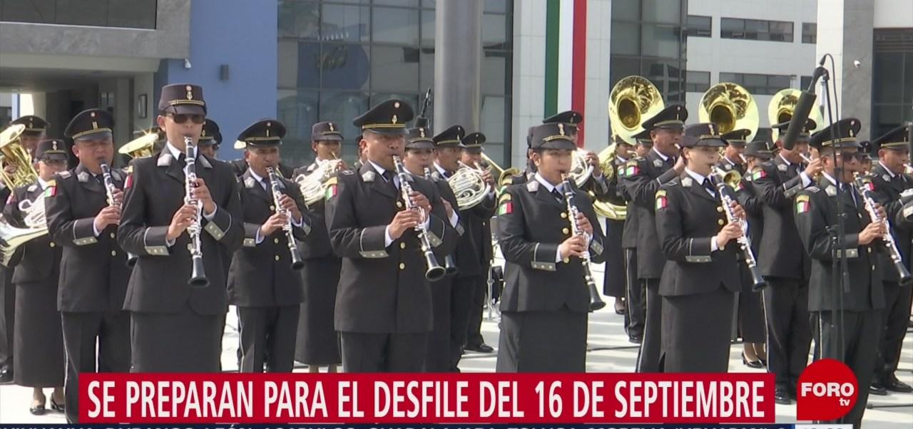 Foto: Elementos Guardia Nacional Desfilarán 16 Septiembre CDMX 9 Septiembre 2019