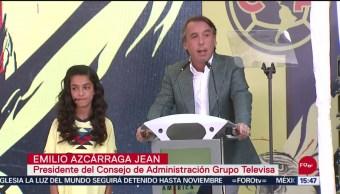 FOTO:Emilio Azcárraga Jean inaugura aguilario para conservación del águila real, 27 septiembre 2019