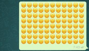 Foto Esto significa el emoji de la carita feliz volteada 19 septiembre 2019