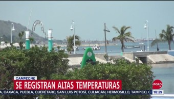 FOTO: Campeche Temperatura Supera 40 Grados Sombra