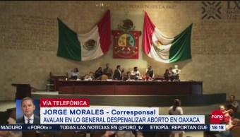 FOTO: Oaxaca Se Convierte Segunda Entidad Despenalizar Aborto