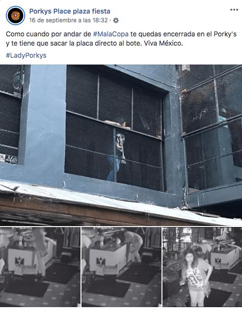 Foto Se queda encerrada en un bar; aprovechó para seguir tomando sin pagar 20 septiembre 2019