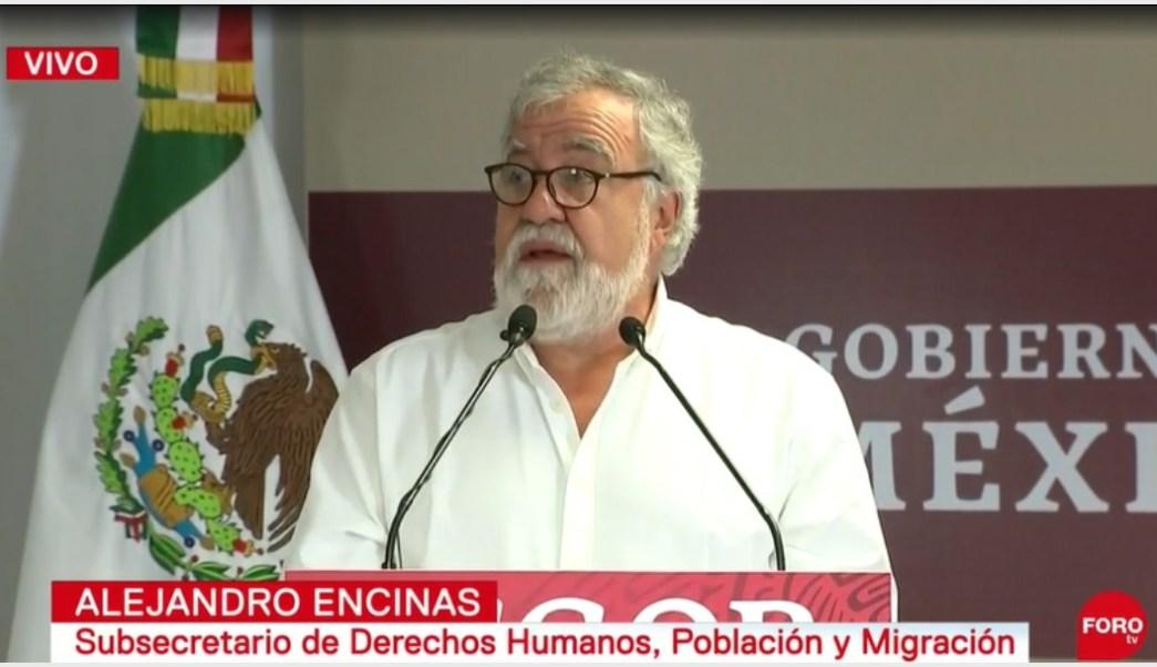 Foto: Alejandro Encinas habla de los liberados por caso Ayotzinapa, 15 de septiembre de 2019 (Foro TV)