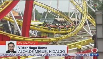 FOTO: Entrevista Completa Víctor Hugo Romo Alcalde Miguel Hidalgo Despierta