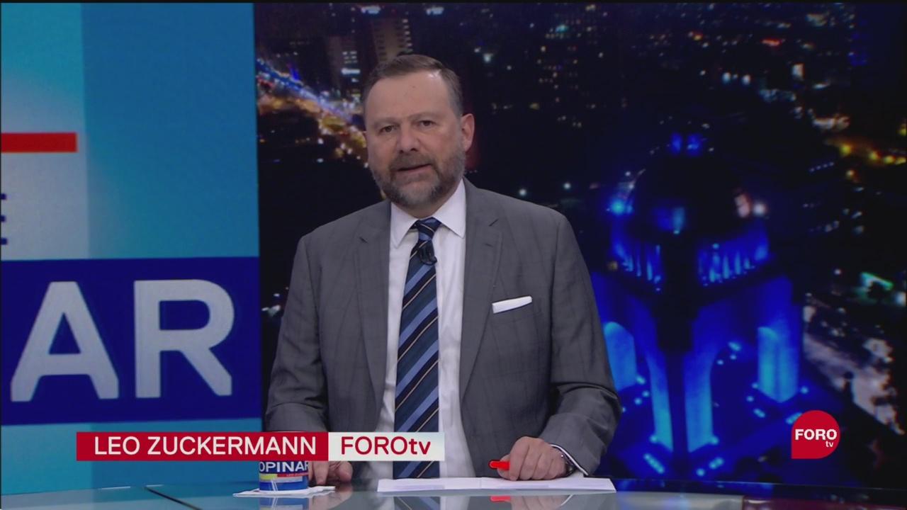 Foto: Hora Opinar Leo Zuckermann Fortov Programa Completo 10 Septiembre 2019