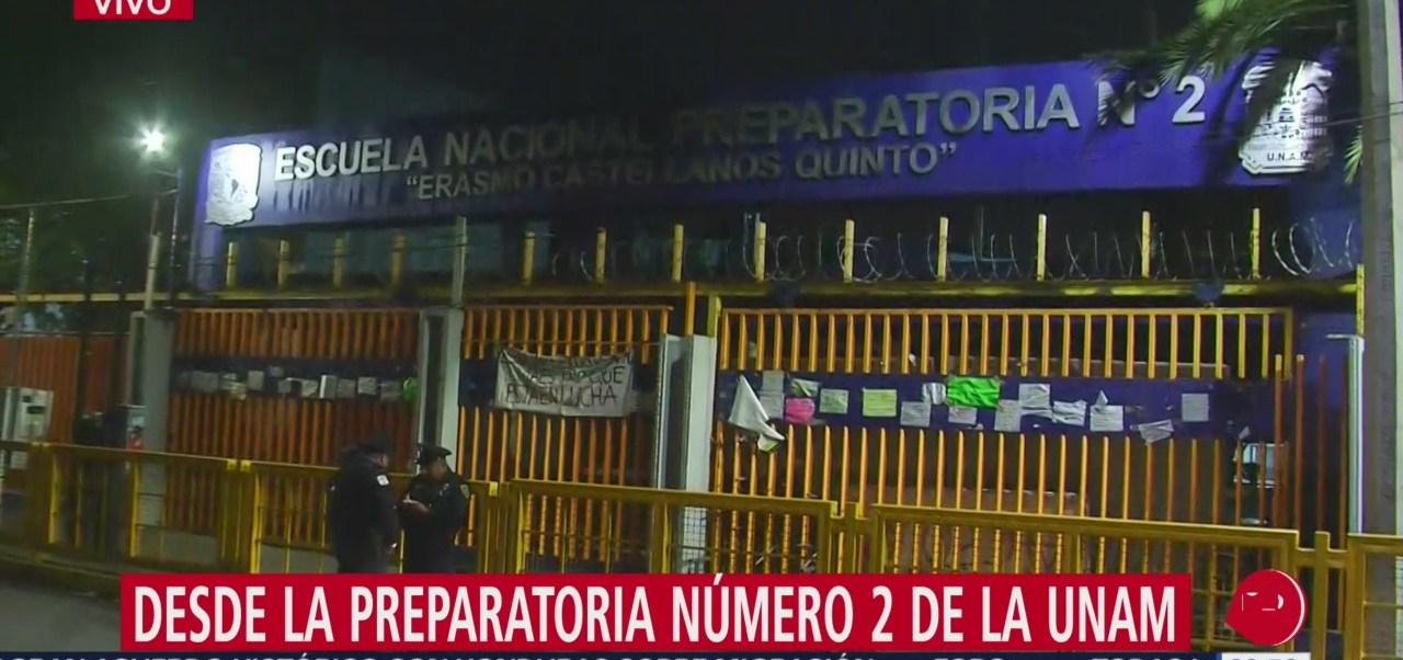 Escuelas de la UNAM se van a paro por caso Ayotzinapa