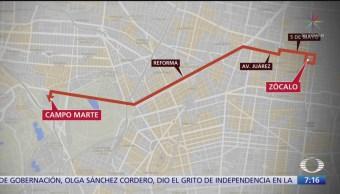 FOTO: Esta es la ruta del desfile militar del 16 de septiembre en CDMX, 16 septiembre 2019