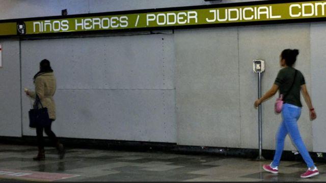 Estación Niños Héroes del Metro.