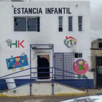 Roban e incendian estancia infantil en Ciudad Juárez