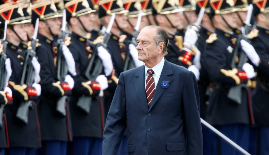 expresidente Jacques Chirac