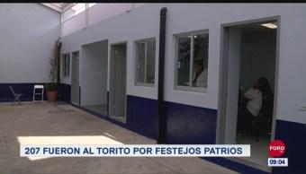 Extra, Extra: 207 fueron al 'torito' por festejos patrios