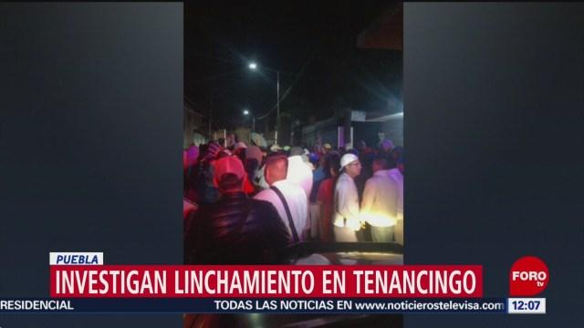 FOTO: Fallece pareja tras ser linchada en Tenancingo, Puebla, 7 septiembre 2019