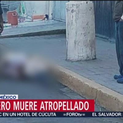 Fallece tamalero tras ser atropellado en La Paz, Estado de México