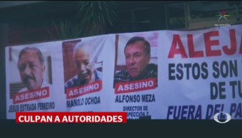 Foto: Familia Mujer Cayó Coladera Culiacán Destitución Alcalde 9 Septiembre 2019