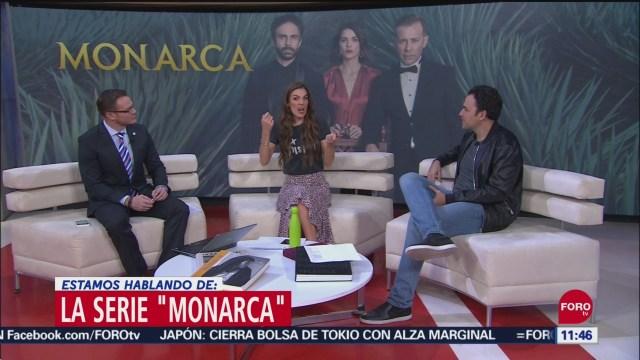 Fer Rovza presenta la serie 'Monarca'
