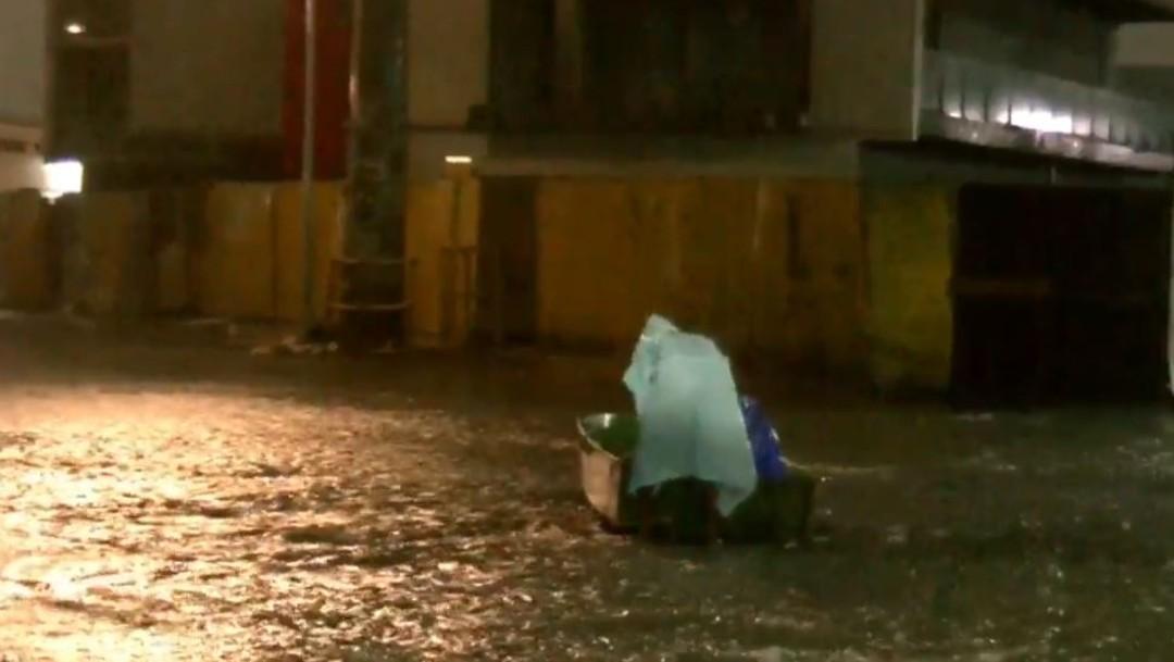 'Fernand' arrasa en el norte del país; provoca desbordamientos e inundaciones severas