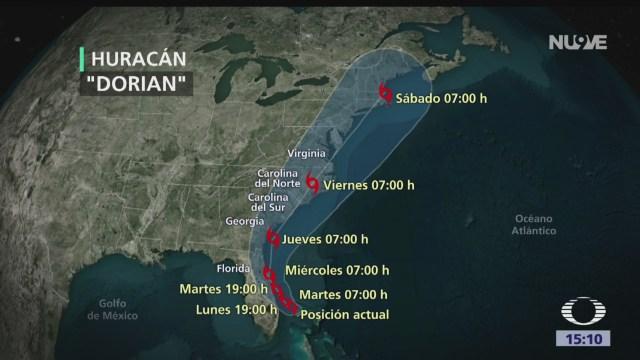 FOTO: Florida Prepara Para Llegada Huracán Dorian