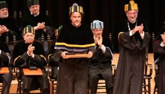 Foto: Ceremonia del Doctorado Honoris Causa de la UNAM. Cuartoscuro