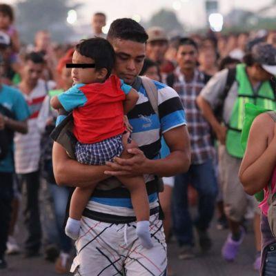 Detienen a 14 migrantes centroamericanos en Chiapas