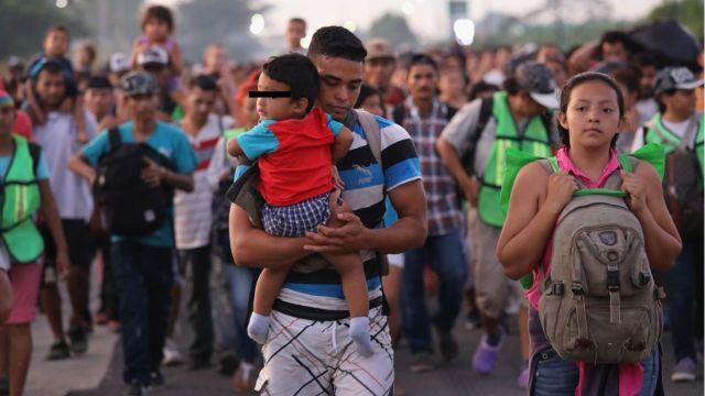 Foto: Miles de migrantes buscan asilo en Estados Unidos. Getty Images/Archivo