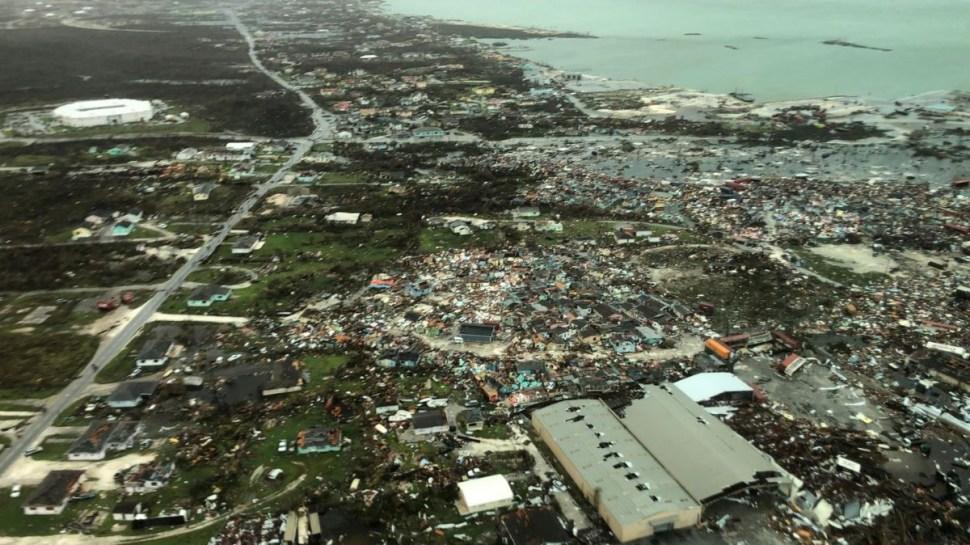 """Foto: Miles de casas fueron arrasadas por el huracán """"Dorian"""" en las Bahamas. Reuters"""