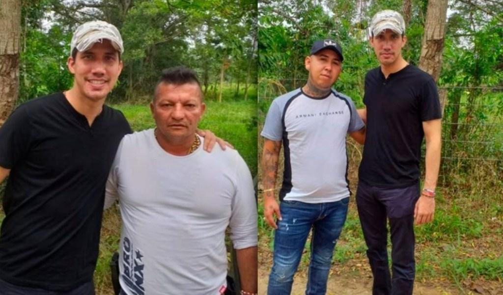 Foto: Juan Guaidó con el presunto criminal, 20 de septiembre de 2019, (Archivo)