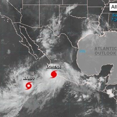 'Lorena' se convierte en huracán categoría 1, en costas de Manzanillo