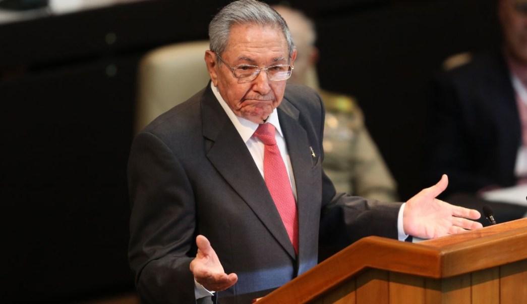 Foto: Raúl Castro, jefe del Partido Comunista de Cuba. Getty Images/Archivo