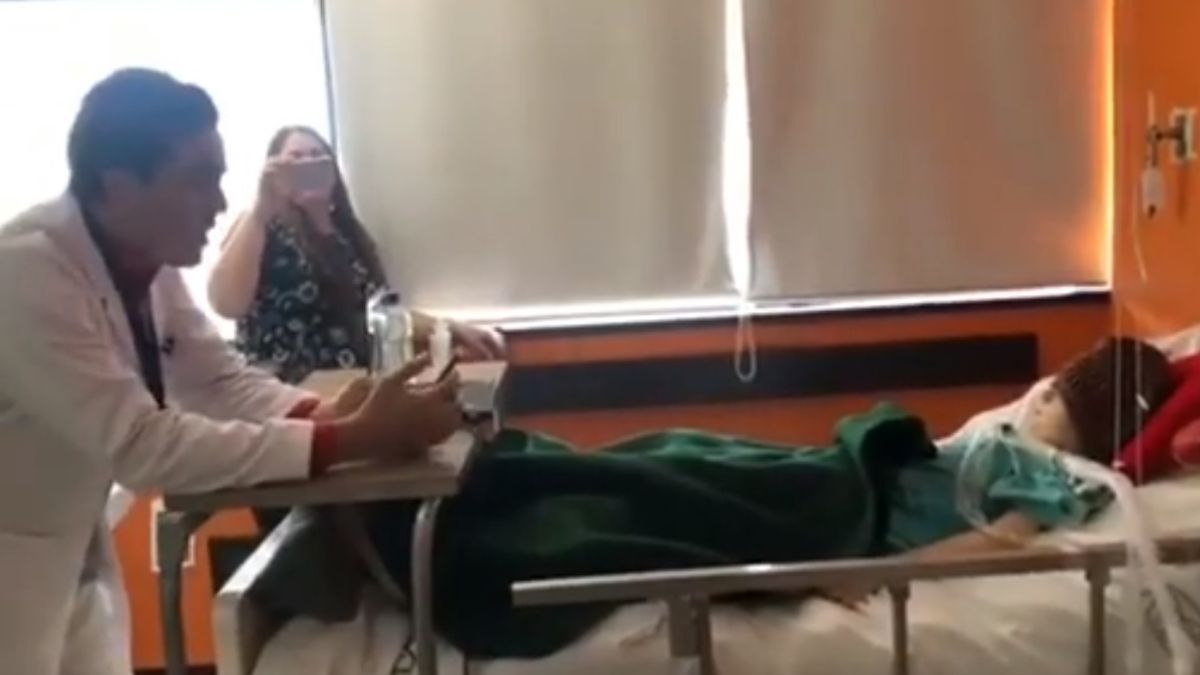 Foto: El doctor Diego Ismael Leyva Cervantes es residente de Pediatría en el Hospital General Regional 1 de Ciudad Obregón, Sonora. Twitter/@zoerobledo