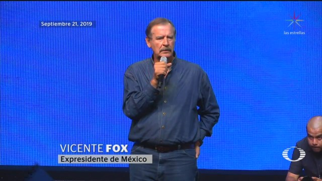 Foto: Vicente Fox Participa Festejos 80 Años Pan 23 Septiembre 2019