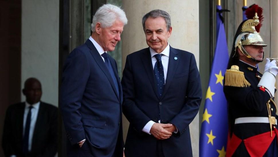 Foto: El ex presidente estadounidense Bill Clinton, el antiguo presidente del Gobierno español José Luis Rodríguez Zapatero o el príncipe Alberto II de Mónaco participaron igualmente en el servicio solemne, 30 de septiembre de 2019 (EFE)