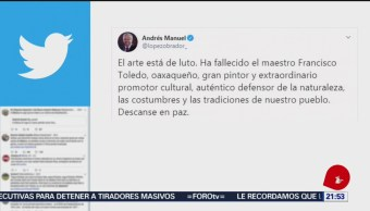 Foto: Francisco Toledo Defensor Costumbres Pueblo Amlo 5 Septiembre 2019