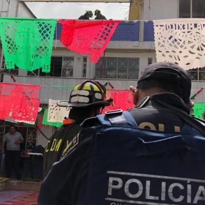 Fuga de gas deja 5 niños intoxicados en kínder de CDMX