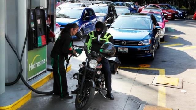 Foto: Gasolinera, 9 de enero de 2019, Ciudad de México