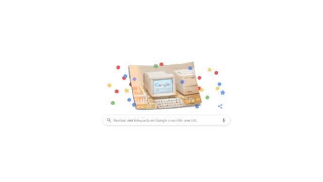 IMAGEN Google cumple 21 años y festeja con doodle (Google)