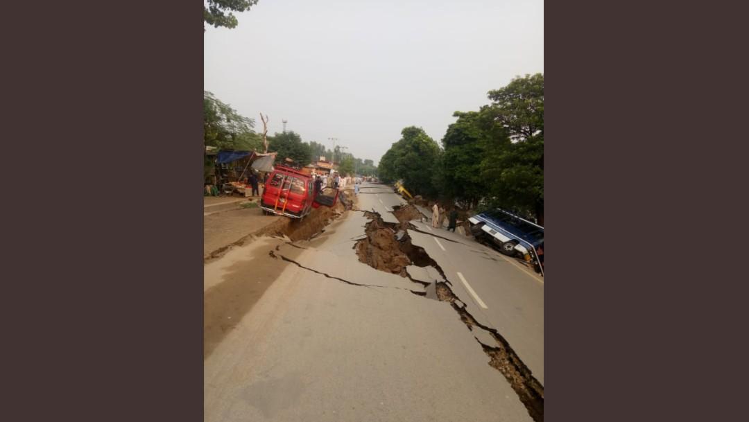 Foto: Daños por sismo en Pakistán, 24 de septiembre de 2019,